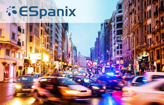 ESpanix partnership in Madrid