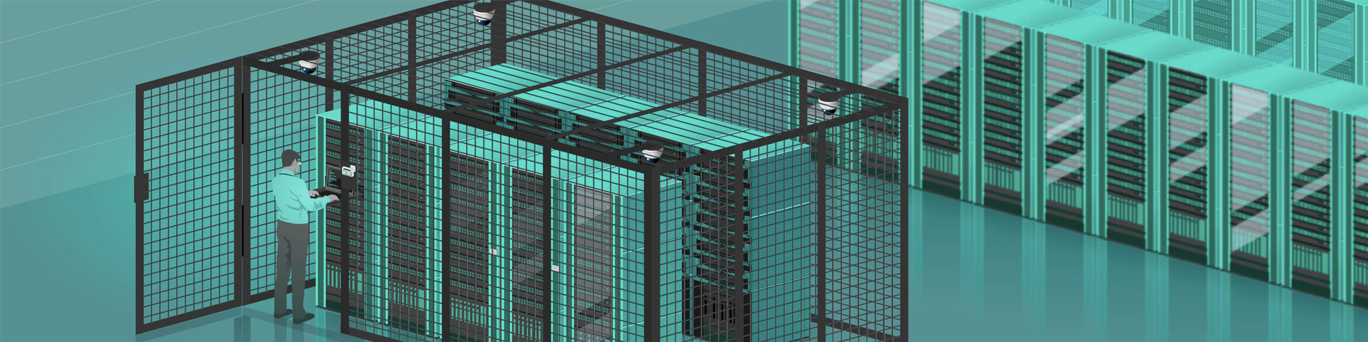 data centre cage and dedicated suite solutions